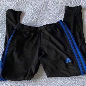 Adidas Zippered Running Leggings
